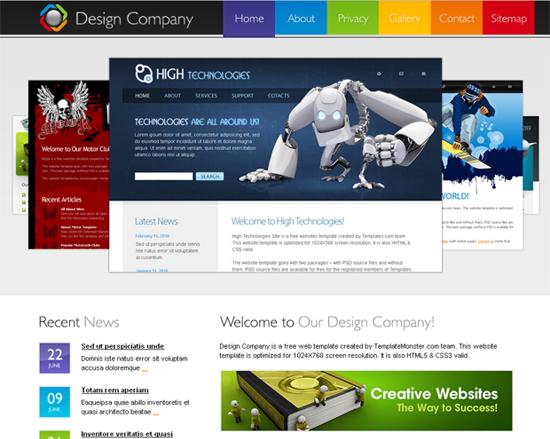 Design Company Website