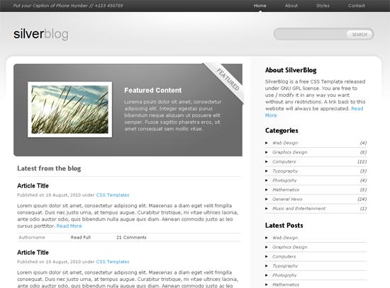 SilverBlog